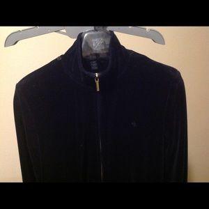 Ralf Lauren , black blouse, jacket